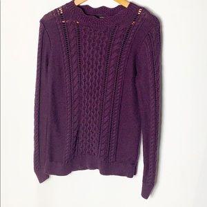 Banana Republic 🍌 Open Knit Sweater Size Medium